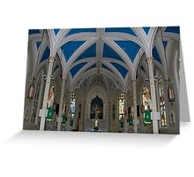 St. Mary's Basilica Greeting Card