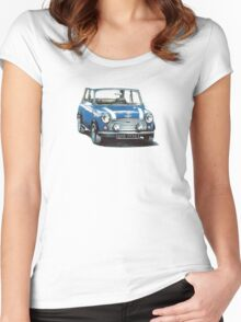 1991 Rover Mini Cooper  Women's Fitted Scoop T-Shirt