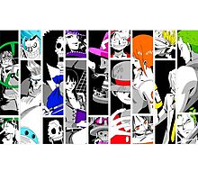 One Piece Straw Hats Photographic Print