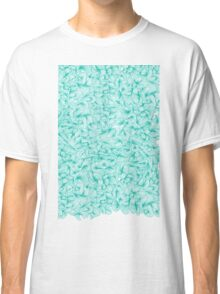 Abstract Turquoise Pattern Classic T-Shirt
