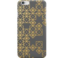 Geometric Gold iPhone Case/Skin