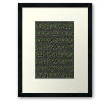 Monster Mash- Green Framed Print