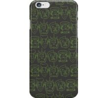 Monster Mash- Green iPhone Case/Skin
