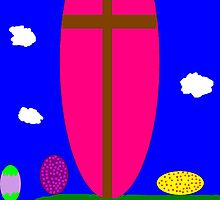 My Daughter Made this for Resurrection Sunday by Heavenandus777
