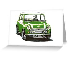 1991 Rover Mini Cooper  Greeting Card
