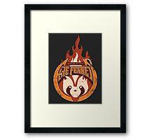 Vintage - Republic City Fire Ferrets Framed Print