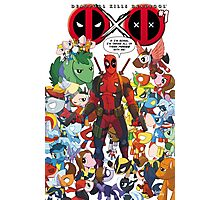 Deadpool and Unicorn Marvels Photographic Print