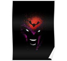 Paint Splatter Villaines : Magneto Poster