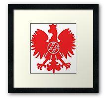 Polska 86 Framed Print