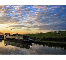 Narrowboat on the Oxford Canal Photographic Print