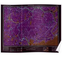 Maine USGS Historical Map Fredericton 806705 1957 250000 Inversion Poster