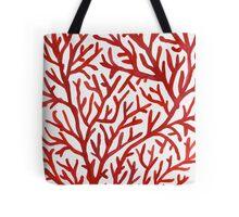 Red Coral Tote Bag
