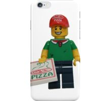 LEGO Pizza Delivery Guy iPhone Case/Skin