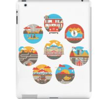 Wes Anderson Films Icon Illustrations iPad Case/Skin