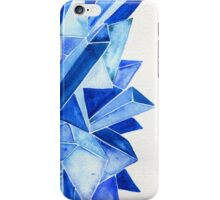 Watercolor Sapphire iPhone Case/Skin