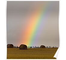 Pot of Gold at the end of the rainbow Poster