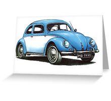 1954 Volkswagen Beetle Greeting Card
