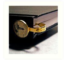 Bookmark Art Print