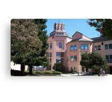 City Hall in Mountain View Canvas Print