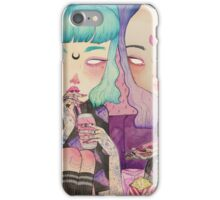 PIZZA Ϟ PARTY iPhone Case/Skin