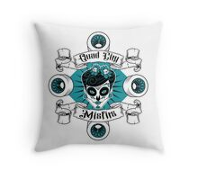 Quad City Misfits Throw Pillow