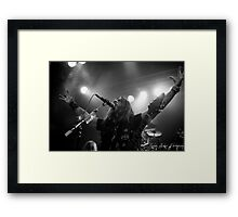 Machine Head - Robb Flynn Framed Print