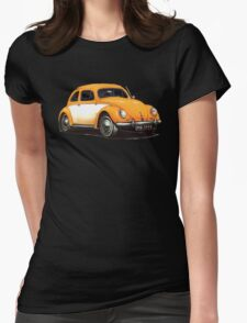 1954 Volkswagen Beetle Womens Fitted T-Shirt