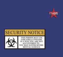 I.T HERO - Security Notice by AdeGee
