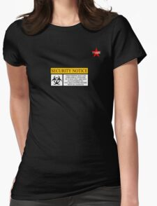 I.T HERO - Security Notice Womens Fitted T-Shirt