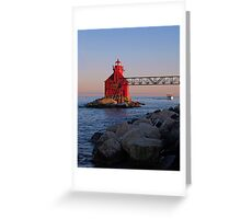 Safely to Harbor Greeting Card
