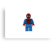 LEGO Spiderman Canvas Print