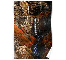 Bridal Veil Falls, Provo Canyon, Autumn Poster