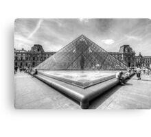 Musee du Louvre, Paris 3 Canvas Print