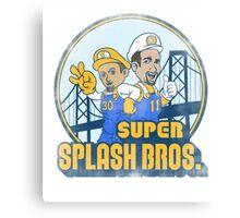 Super Splash Bros  Canvas Print