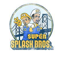 Super Splash Bros  Photographic Print