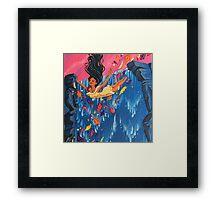 Around the Riverbend Framed Print