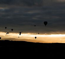 Ballooning Sunset by Evan Shortiss
