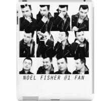 Noel Fisher #1 Fan  iPad Case/Skin
