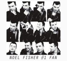 Noel Fisher #1 Fan  by frnknsteinn