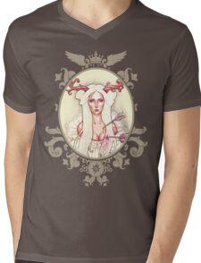 Gélida Flor Mens V-Neck T-Shirt