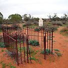 Bush Cemetery, Silverton, NSW by Adrian Paul