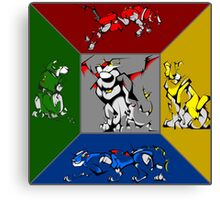 From Days of Long Ago.....Cubist Voltron Canvas Print