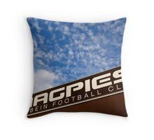 Merbein Magpies Throw Pillow