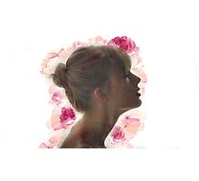 Taylor Swift , flowers Photographic Print