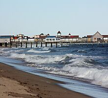 Old Orchard Beach, Maine by Rebecca Brann