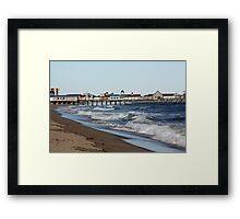 Old Orchard Beach, Maine Framed Print