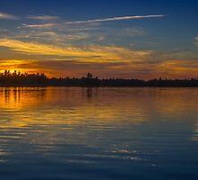 Kejimkujik sunset by mlphoto