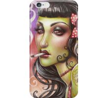 Zombies can smoke iPhone Case/Skin