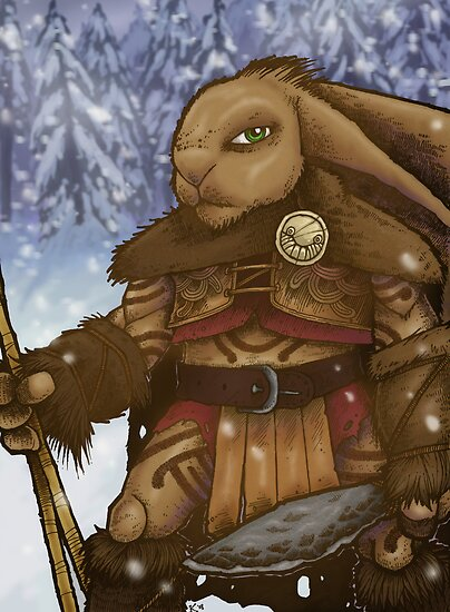 Stone Age Rabbit by curua