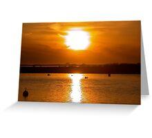 Madaket Sunset II Greeting Card